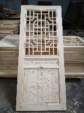 成都中式實木花窗嚴格落實環保趨勢/實木中式花格隔斷選材環保圖片