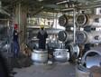 煤焦化厂锅炉不锈钢冷水塔酸洗钝化图片