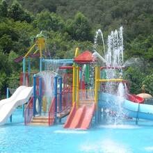 厂家直供揭阳水上乐园设施---150儿童互动水屋