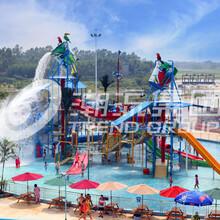 厂家直供成都水上乐园设施----大型水寨加勒比海盗