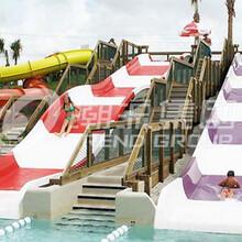 厂家直营攀枝花水上乐园设施----儿童组合滑梯
