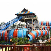 广州潮流厂家定制水上设备三亚梦幻水上乐园巨蟒水滑梯设备