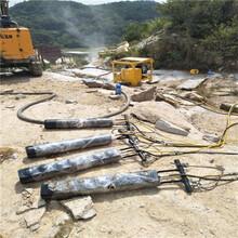 矿山开采破石头机器安徽黄山当地代理商图片