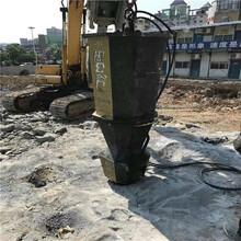 挖河道岩石破拆中风化岩石开挖设备北京门头沟图片参数图片