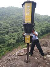 广东南沙石料厂有人用劈裂棒开采石头吗生产供应图片