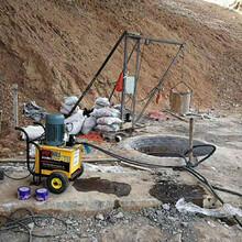 河北深泽矿场开采岩石静态液压机器不易损坏图片