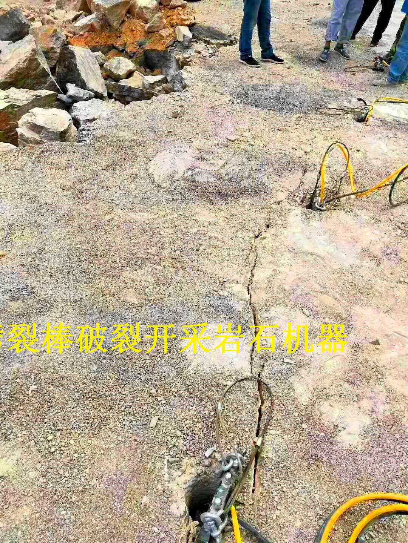 道路土石方施工液压破石机安徽合肥出租租赁