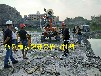 广西北海花岗岩基坑破石机载液压岩石劈裂机厂家供货