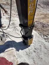 恩施建始土石方快速爆破液压裂岩机厂家供应图片