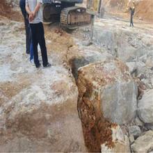 连云港赣榆腊石开采机器设备工具一个班产量劈裂机图片
