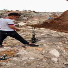 扬州高邮市岩石开裂器不易损坏煤壁破石头图片