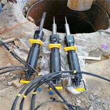 沧州东光隧道掘进代替掘进机的机器劈裂棒排行榜开山机图片
