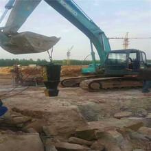 西藏拉萨开石机一天产量农村盖房子挖地基图片