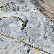 湘潭岳塘区山体石头破碎劈裂机二手供应煤壁破石头图片