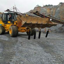 孝感孝南区石头硬炮机打得慢有专开硬石头的机械吗厂家供货沟渠开挖图片
