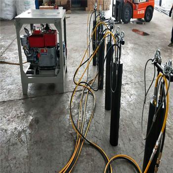 宜昌当阳市液压原理的机器130劈裂棒哪里买小区挖石头地基
