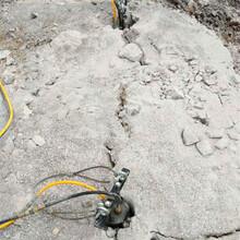甘南卓尼修铁炉公路破石头机器哪家买管沟开挖图片