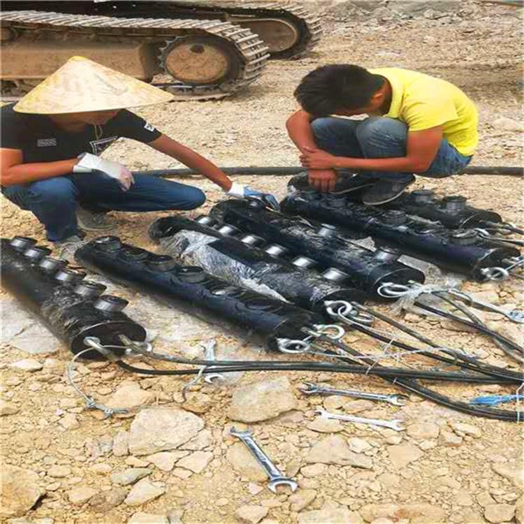 鹤岗绥滨矿山石头破除解体机器生产供应岩石开采