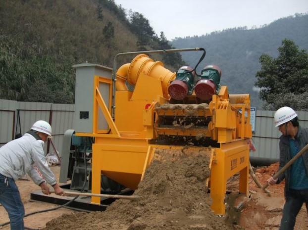 沈阳沈河区泥浆土碴有效分离机一天产量
