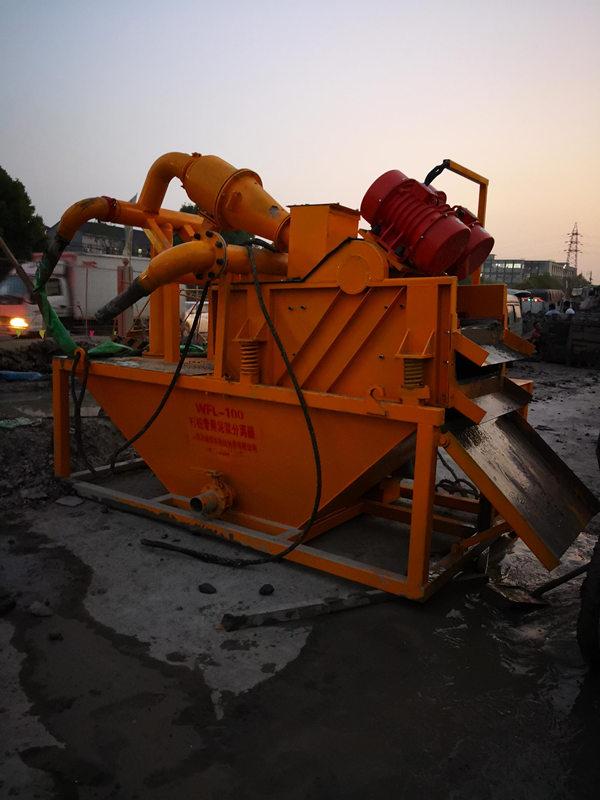 江苏泰州沉淀池泥水处理器石材泥浆脱水