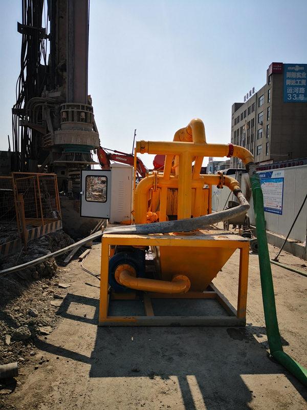 温州鹿城区地下隧道盾构工程泥水处理地铁连续梁