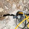 广州增城挖孔桩有石头用劈裂机出租价格