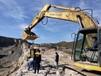 大兴安岭呼玛挖孔桩破石头机器开采投资
