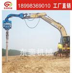 挖掘机打桩锤批发,挖机改装打桩锤价格图片