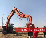 挖掘机多功能打桩机,打拔桩一体,操作简单图片