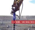 挖掘机液压钻孔机械可以快速钻眼挖坑的螺旋钻机