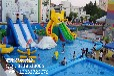 广州水上玩具,大型移动游泳池可以订制,浩阳游乐专业生产