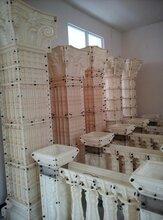 青海海东哪里有罗马柱模具批发,多少异能了钱一套图片