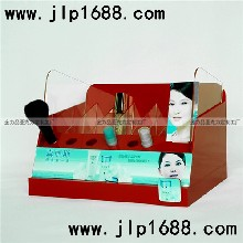 红色亚克力化妆品刷子柜子