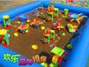 儿童益智沙滩乐园游乐设备郑州乐游沙滩乐园价格