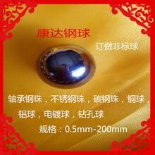 康达钢球厂家生产18mm碳钢球,钻孔球,可攻牙、电镀,包邮图片