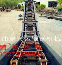 水平埋刮板输送机工业链式刮板运输机煤灰水泥刮板机图片