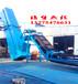 辽宁鞍山爬坡上料槽型托辊输送机原木运输装车输送机结构原理