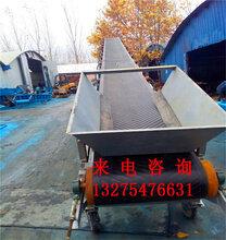 淄博折叠式简易型皮带机生产Z型升降式箱体物料传送机图片
