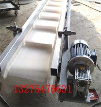 现货皮带输送机促销1米皮带机型号规格U型托棍玉米粒装车皮带机图片