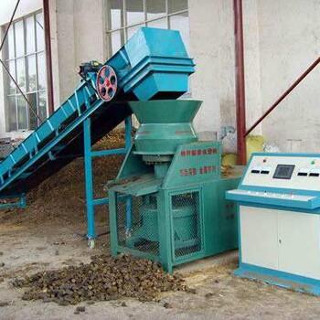 抚顺玉米秸秆成型压块机生物质燃料成型机价格产能高