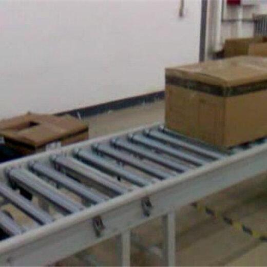 佳木斯无动力滚筒输送机生产分拣水平输送滚筒线
