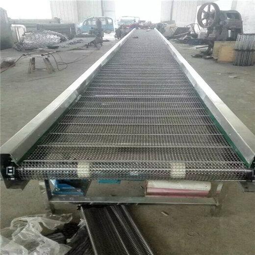 自动升降挡边输送机防油耐腐机场行李装卸车输送机