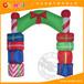 广州全优能圣诞充气拱门丨拱门批发商丨充气拱门定制