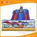 全能气模供应大型蜘蛛侠卡通充气滑梯丨儿童水上乐园滑梯丨可定做