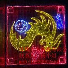 道路景观亮化led平面飞马造型灯,凤翔造型灯