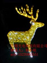 led圣诞节日亮化鹿子造型灯,梅花鹿造型灯