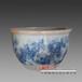 陶瓷荷花缸景德镇产陶瓷风水大缸生产厂家
