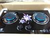 供应钢化玻璃款嵌入式煤气灶樱花节能燃气灶高端双炉头燃气灶