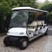 热销常熟6座电动高尔夫球车,景区接待观光车,游乐场代步车