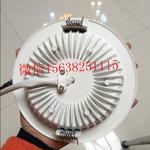 视贝led9W筒灯射灯天花灯嵌入式暖白高亮开孔11.5面经14.5图片